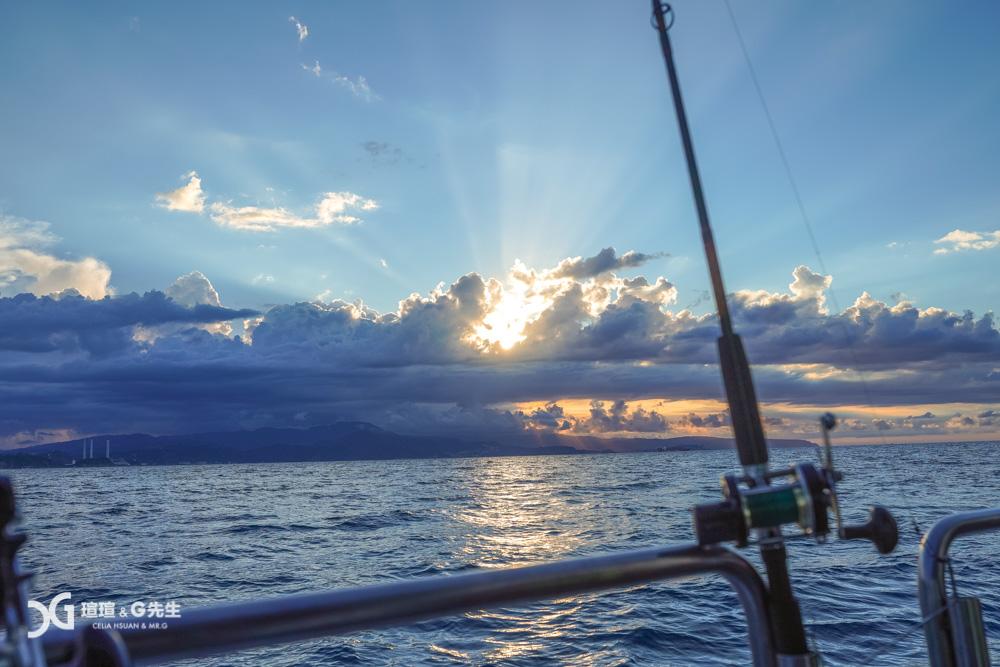 基隆外海釣魚 基隆外海夜釣 釣魚推薦 基隆行程點推薦 基隆景點 八斗子景點 八斗子漁港 碧砂漁港