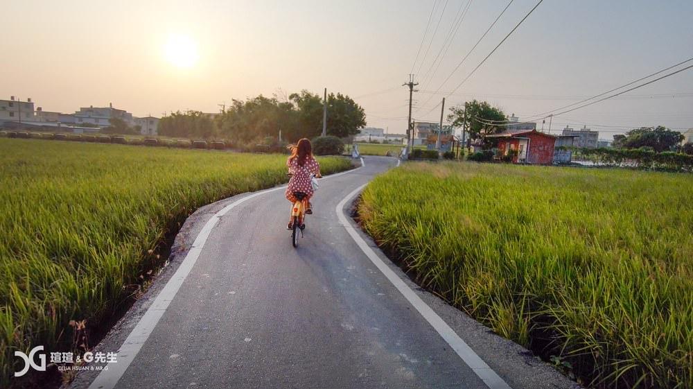 台中景點推薦 五福圳自行車道 台中旅遊