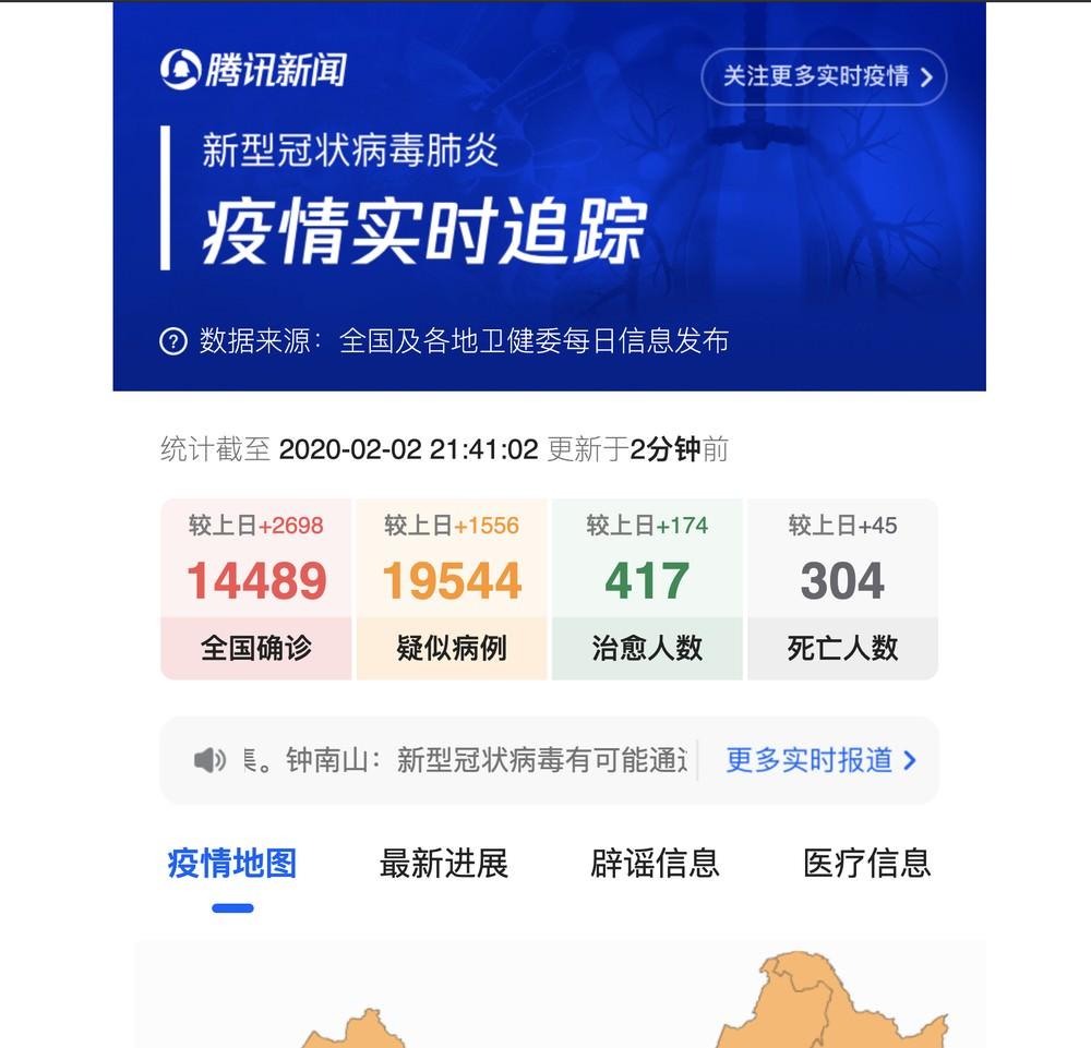 武漢肺炎 該不該出國 中國疫情 病例整理 更新