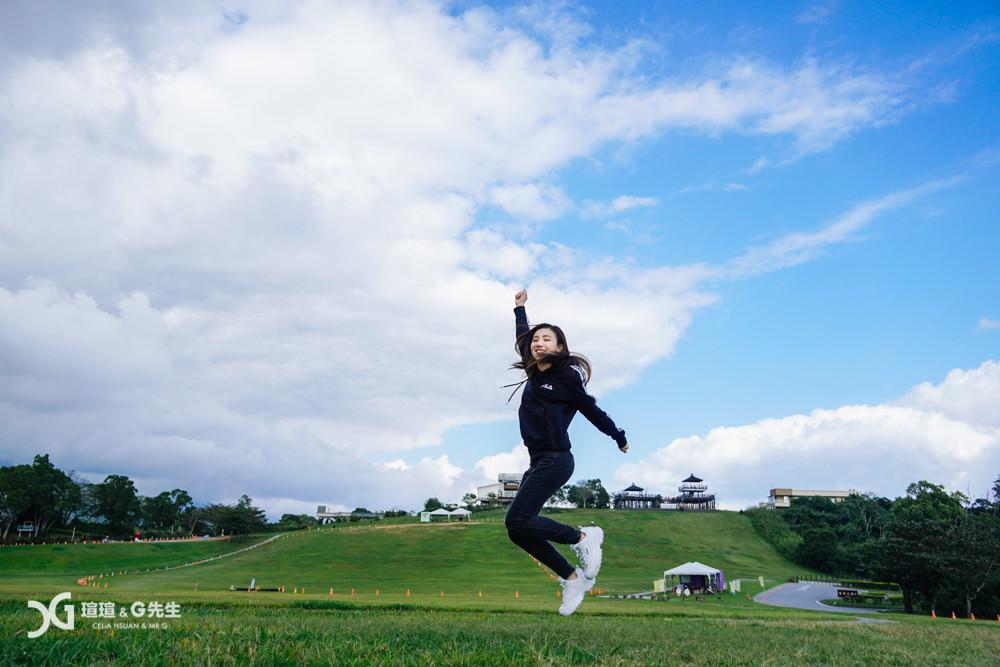 台東親子行程 台東親子景點 鹿野高台 滑草