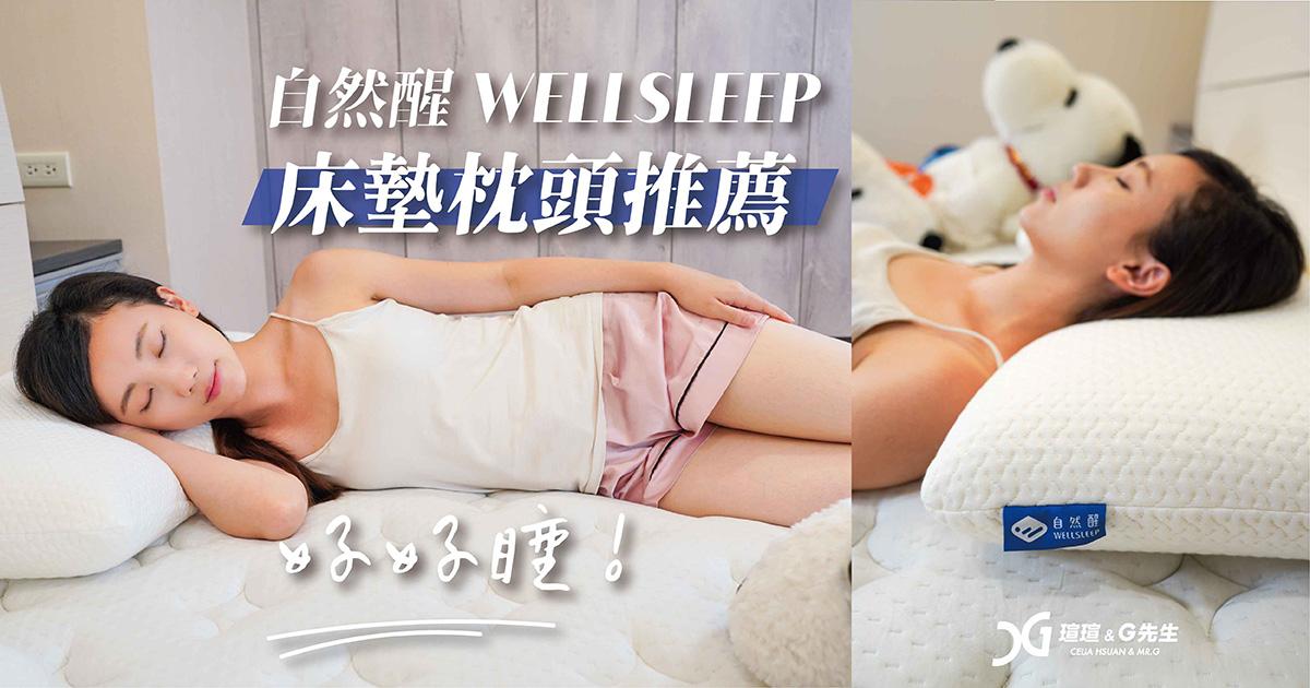 床墊推薦 枕頭推薦 自然醒 wellsleep 太空捲捲床墊 太空眠重力枕