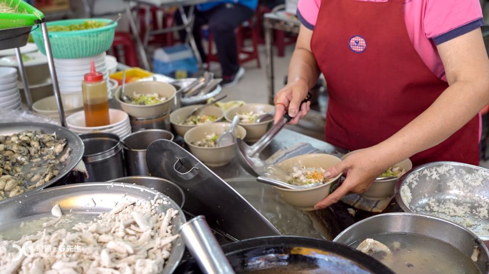 大勇街無名鹹粥 台南6家推薦傳統小吃早午餐 台南美食推薦 台南小吃推薦