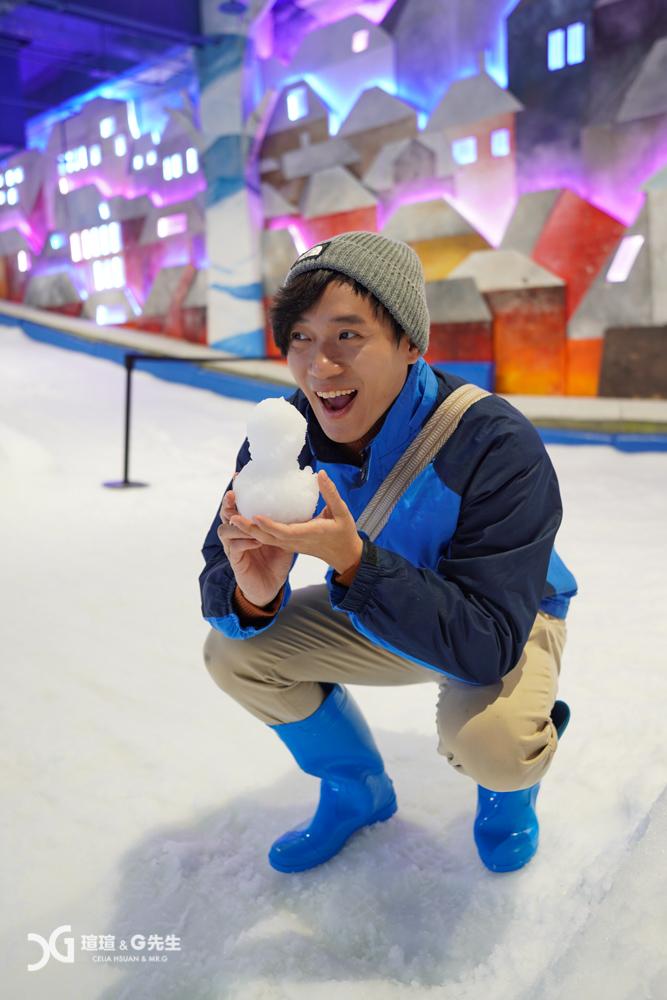 SNOWTOWN雪樂地 台中景點 台中親子景點 台中玩雪 台中三井