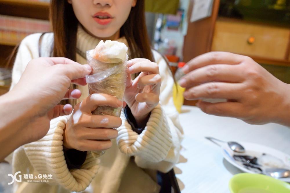 游記潤餅 台中第五市場美食 台中第五市場小吃