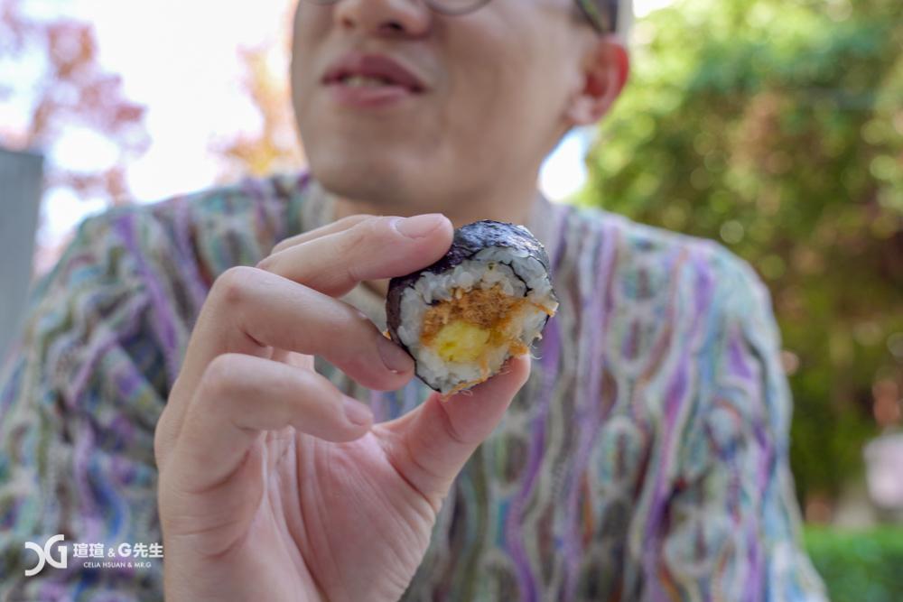 永平傳統壽司 台中第五市場美食 台中第五市場小吃