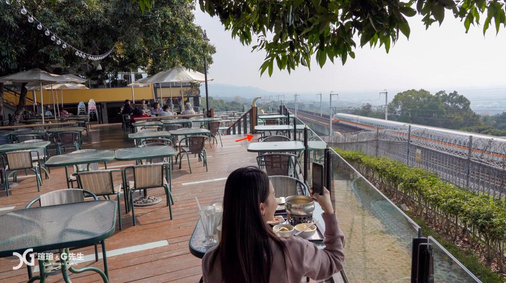 銀河鐵道望景餐廳 彰化景點推薦 彰化夜景推薦 彰化景觀餐廳
