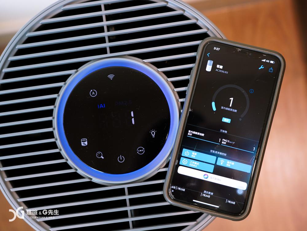 奈米級空氣清淨機 philips AC2936