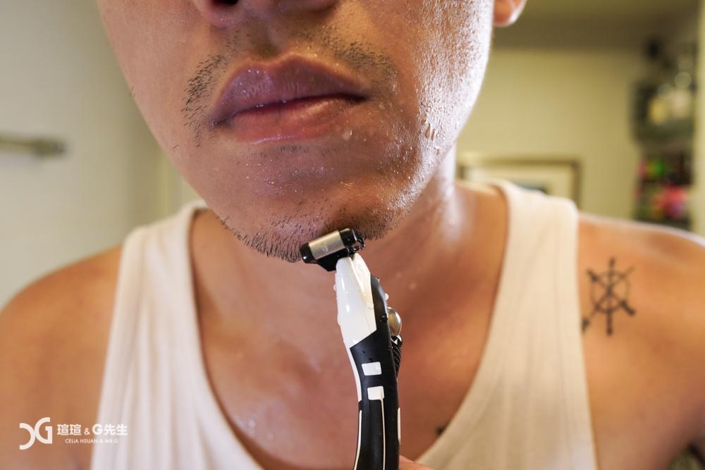 手動刮鬍刀推薦 Bic 極淨5 Flex 5
